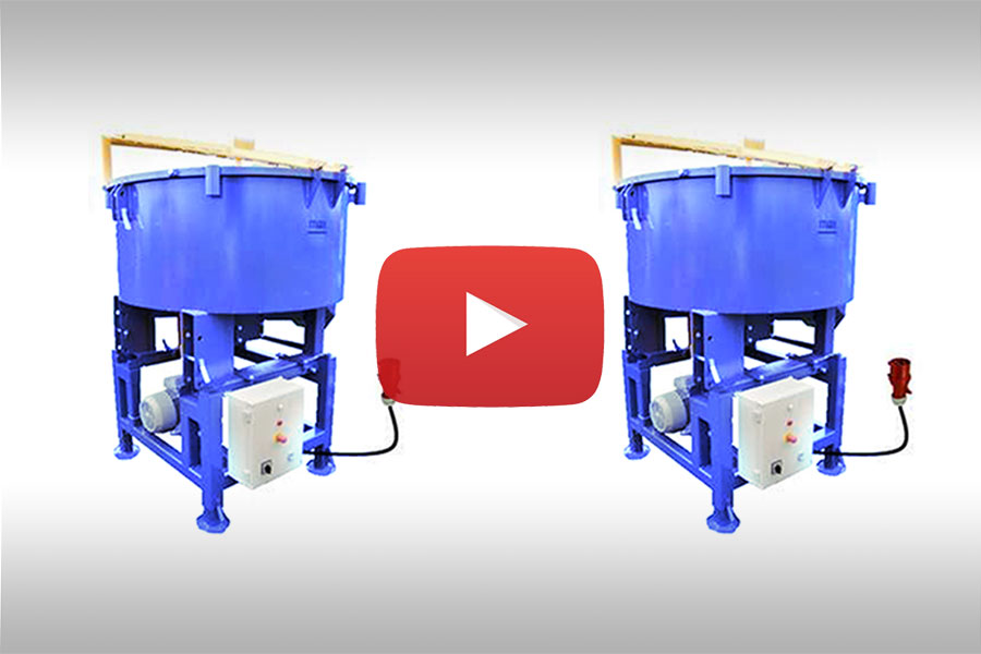 3-PHASE PAN MIXER