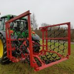 Chain Harrow mat shown aggressive side down