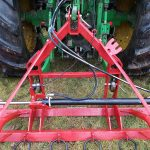 Agritrend Chain Harrow Dragon Tooth Shown Aggressive Side Up