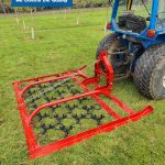 Compact chain harrow