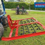 Harrow for compact tractor