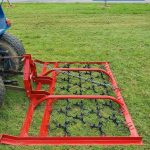 agritrend harrow for compact tractor